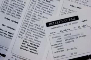 Fraude belletin de paie sécurité sociale
